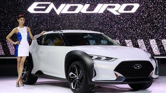 Hyundai Enduro создаст раллийное настроение в мегаполисе