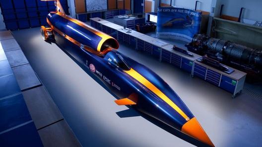 Проект Bloodhound продемонстрировал процесс строительства ракетомобиля