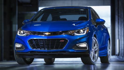 Новое поколение Chevrolet Cruze показали миру