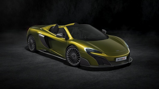 McLaren официально представила суперкар 675LT в кузове спайдер
