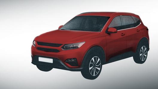 Появились первые изображения новейшего кроссовера УАЗ