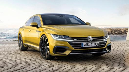 В Россию привезут четырехдверное купе Volkswagen Arteon