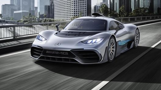 Чужой среди своих: гиперкар от Mercedes-AMG строят просто,