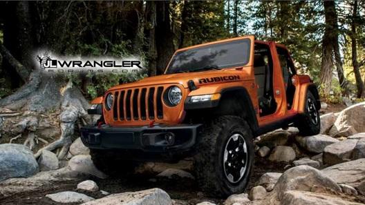 Объявлена дата официального показа нового Jeep Wrangler