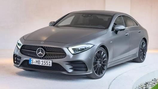 Новейшую модель Mercedes-Benz рассекретили до премьеры