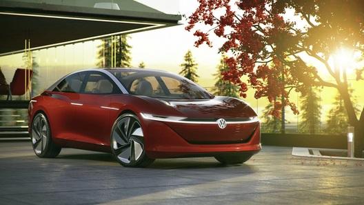 Volkswagen представил концепт без руля и педалей