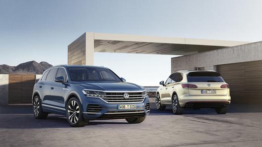 Volkswagen назвал цену и комплектации нового Touareg для России
