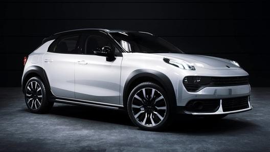 Китайцы представили кроссовер для Европы на базе Volvo