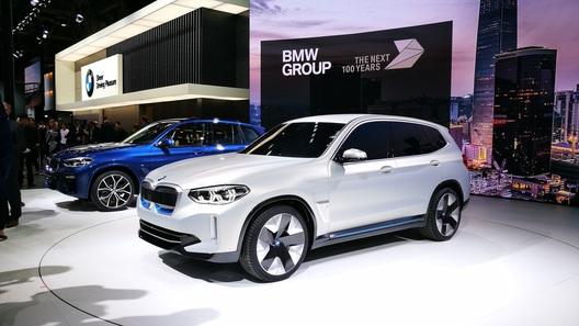 Электрический BMW X3 получит китайские аккумуляторы