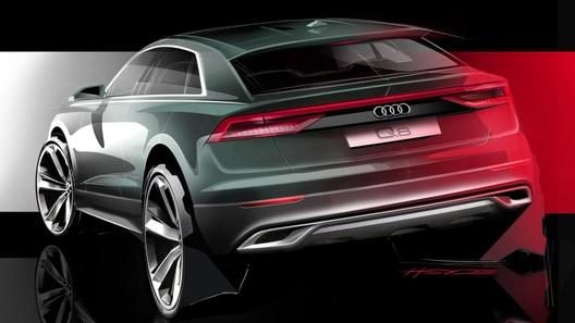 Audi приоткрыла завесу над новым кросс-купе Q8