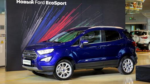 В России стартовало производство обновленного кроссовера Ford