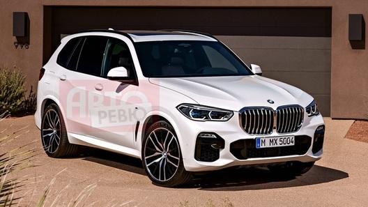 Абсолютно новый BMW X5: официальные фотографии