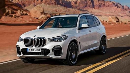 Официально представлен новейший премиум-кроссовер BMW X5