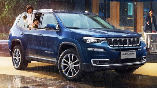 Китайский Jeep Grand Commander получил