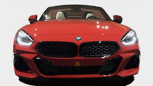 Полностью рассекречена внешность нового BMW Z4