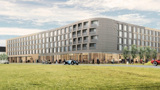 В Британии построят отель для фанатичных автомобилистов