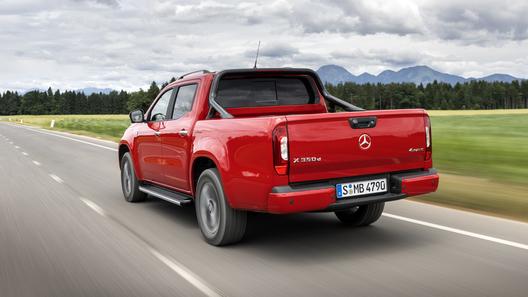 Mercedes-Benz говорит пикапу X-Класса