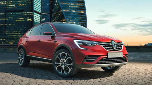 Известна дата премьеры нового кросс-купе Renault Arkana (ждать недолго!)