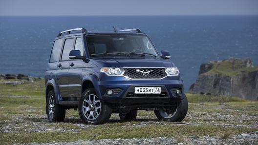 Обновленный УАЗ Patriot может получить фордовский дизель