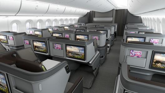 BMW разрабатывает авиакресла бизнес-класса для Boeing Dreamliner