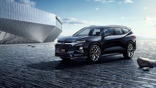 Chevrolet удлинила кроссовер Blazer и превратила его в концепт