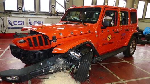 Новый Jeep Wrangler внезапно провалил краш-тест (видео)