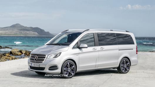 Обновленный Mercedes-Benz V-Класса: мы узнали сроки премьеры