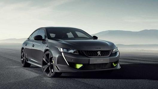 Peugeot построил экстремальный гибрид с использованием