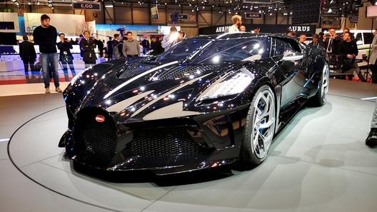 Самый черный, самый дорогой и единственный в мире Bugatti