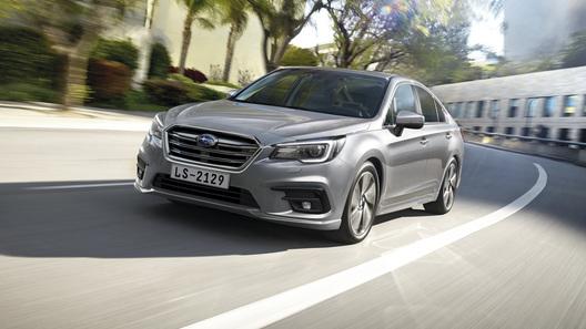 В России стартуют продажи обновленного Subaru Legacy