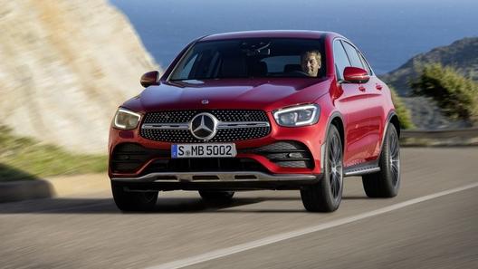 Представлено обновленное кросс-купе Mercedes-Benz GLC