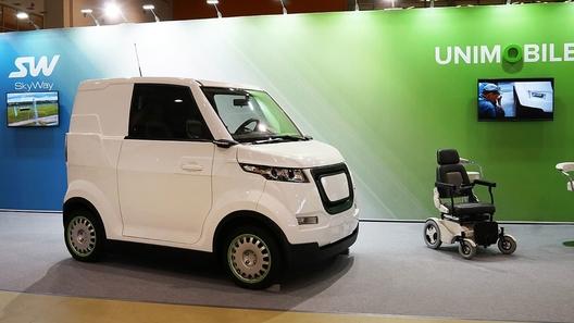 В России может появиться современный автомобиль для инвалидов
