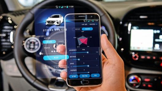 Электрическими Hyundai можно будет управлять с телефона