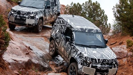 Новый Land Rover Defender: известны все подробности