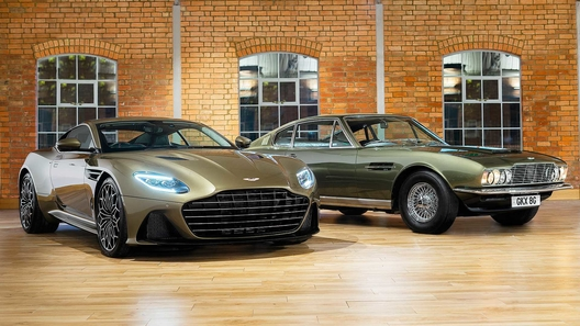 Представлен Aston Martin DBS Superleggera в