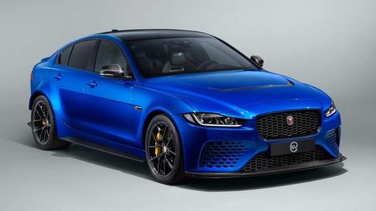 Самый мощный Jaguar XE получил менее