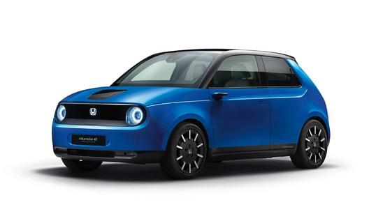 Стали известны характеристики произведшего фурор е-мобиля Honda