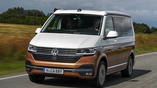 Рассекречен обновленный кемпер Volkswagen California