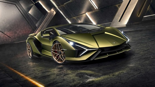 Lamborghini Sian - первый в истории марки гибридный суперкар