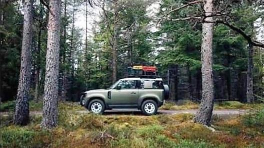 Новый Land Rover Defender почти рассекретили за день до дебюта