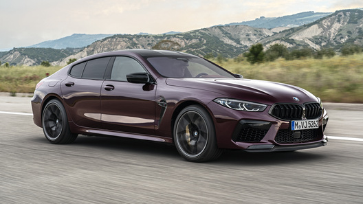 До 100 км/ч за 3,2 секунды: представлен новейший BMW M8 Gran Coupe