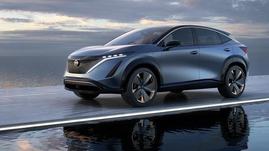 Концепт-кар Nissan Ariya станет серийной моделью и приедет в Россию