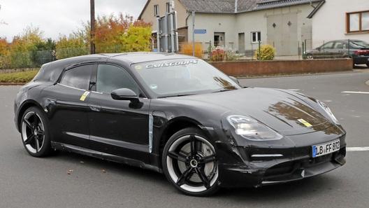Porsche Taycan: ничто не мешает спортседану стать универсалом