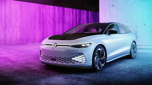 Таких Volkswagen еще не было: гибрид универсала, кроссовера и купе