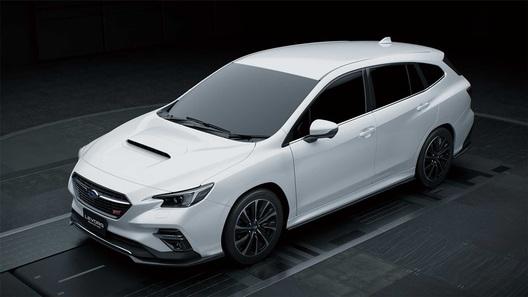 Будущему универсалу Subaru обещают версию STI и неожиданные решения