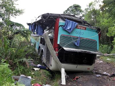 В катастрофе с автобусом в Индии погибли 44 человека