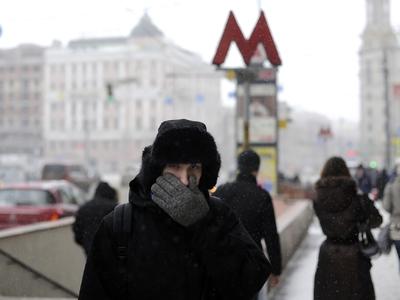 В Москве прекратится снегопад и похолодает