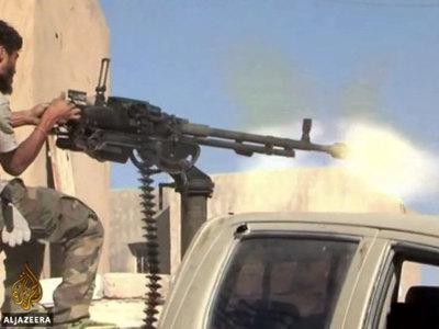 ВВС Египта ударили по террористам в Ливии