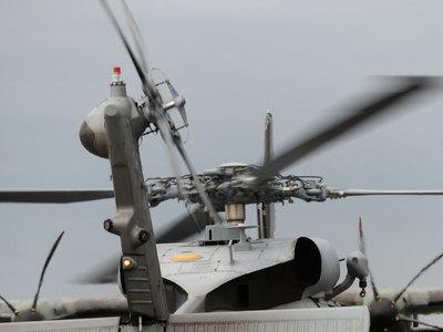 В Рио-де-Жанейро разбился военный вертолет