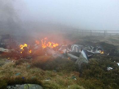 В штате Юта в результате крушения самолета погибли четыре человека
